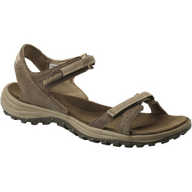 Columbia Santiam Sandalen Dames, mud/sandy tan